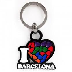 Key Chain | I Love Barcelona
